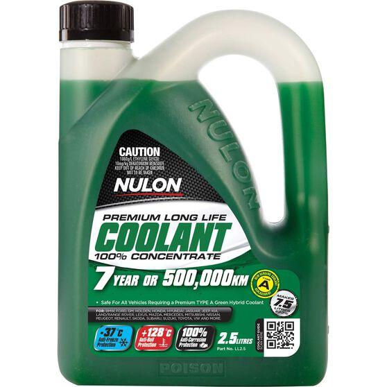 Nulon Long Life Anti-Freeze / Anti-Boil Concentrate Coolant - 2.5 Litre, , scaau_hi-res