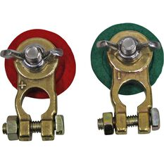 Matson Battery Terminal, Wing Nut, Universal - 2 Pack, , scaau_hi-res