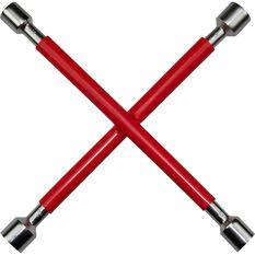 SCA Wheel Brace - Rubber Grip, Red, , scaau_hi-res