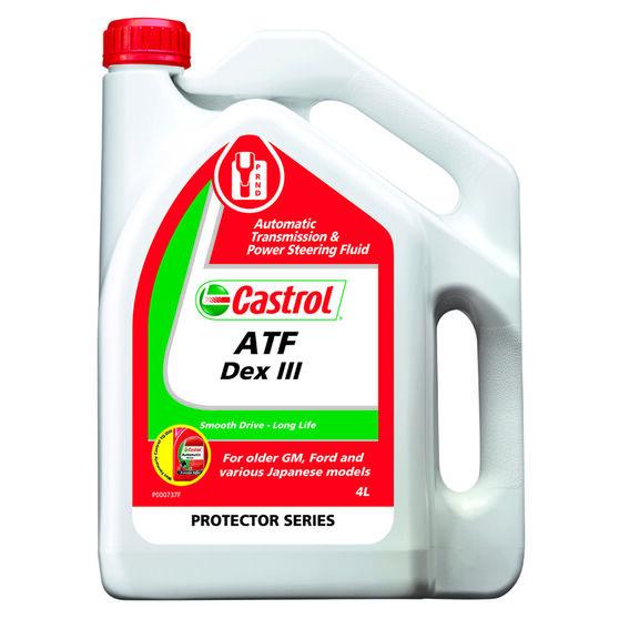 Castrol Auto Transmission Fluid - Dex III, 4 Litre, , scaau_hi-res