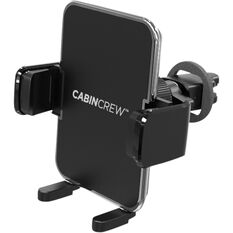 Cabin Crew Phone Holder - Vent Mount, Expander, Black, , scaau_hi-res