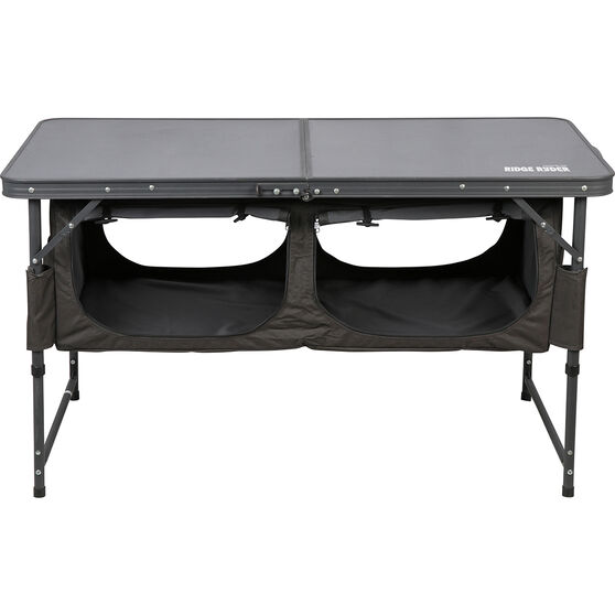 Ridge Ryder Folding Table - with Storage, , scaau_hi-res