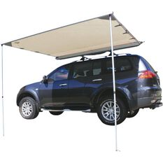 Ridge Ryder LED 4WD Awning Shade - 2.0 x 2.0m, , scaau_hi-res