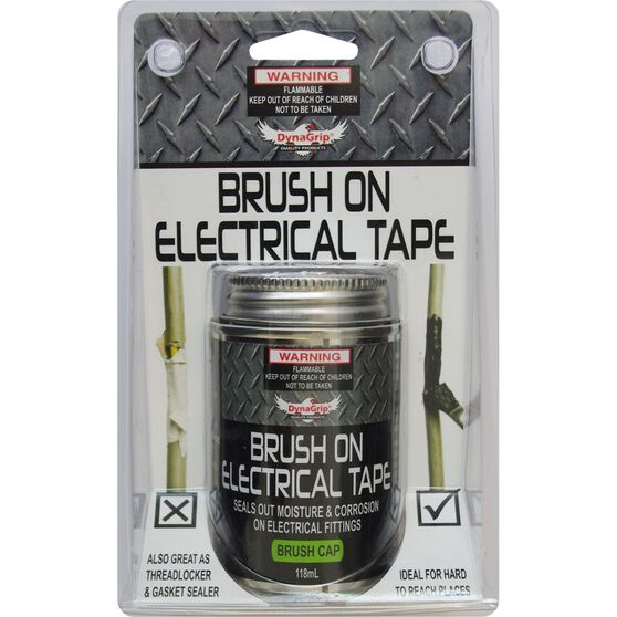 DynaGrip Brush On Electrical Tape - 118mL, , scaau_hi-res