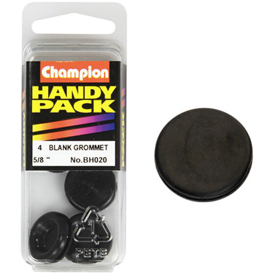 Champion Blanking Grommet - 5 / 8inch, BH020, Handy Pack, , scaau_hi-res