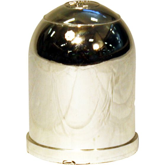 Trojan Tow Ball Cover - Chrome, 50mm, , scaau_hi-res
