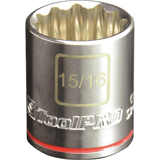 "ToolPRO Single Socket - 1/2"" Drive, 15/16"", , scaau_hi-res"
