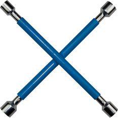 SCA Wheel Brace, Rubber Grip, Blue, , scaau_hi-res