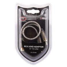 SCA RCA Lead Adaptor - 1 Female to 2 Male, , scaau_hi-res