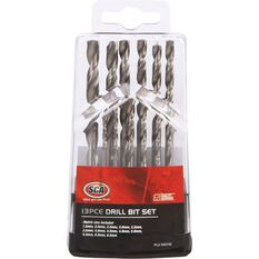 SCA Drill Bit Set 13 Piece, , scaau_hi-res