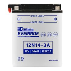 Century Powersports Battery 12N14-3A, , scaau_hi-res