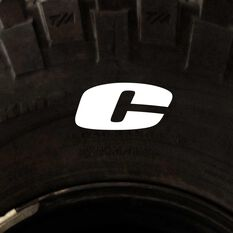 Tire Stickers - Letter C, , scaau_hi-res