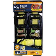 Ratchet Tie Down - 4.5m, 600kg, 2 Pack, , scaau_hi-res