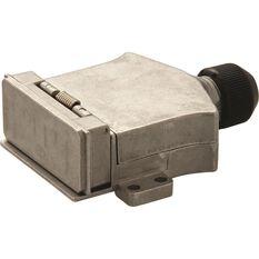 KT Cable Trailer Socket, Flat, Metal, LED - 7 Pin, , scaau_hi-res