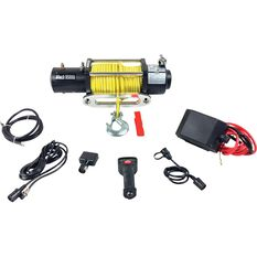 Electric Winch - 12V, 9500lb, , scaau_hi-res