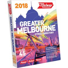 Melway Melbourne Street Directory - 45th Edition, 2018, , scaau_hi-res