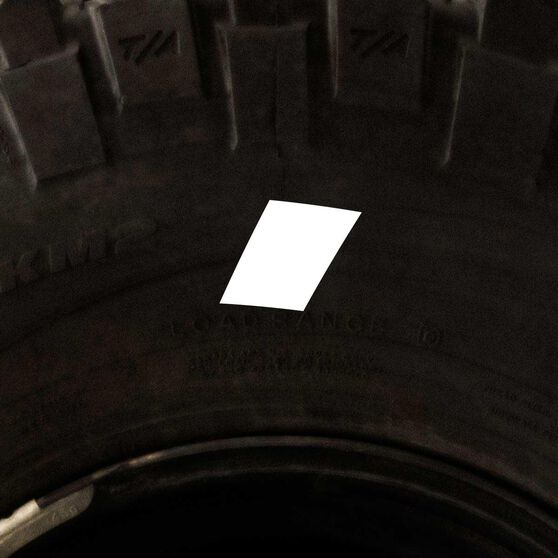 Tire Stickers - Letter I, , scaau_hi-res