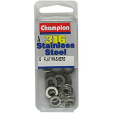 Champion Flat Washers - 5mm, , scaau_hi-res