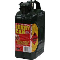 Metal Jerry Can - 2 Stroke, 5 Litre, Green, , scaau_hi-res