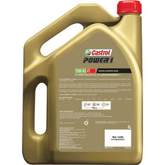 Castrol POWER1 4T Motorcycle Oil 10W-40 4 Litre, , scaau_hi-res