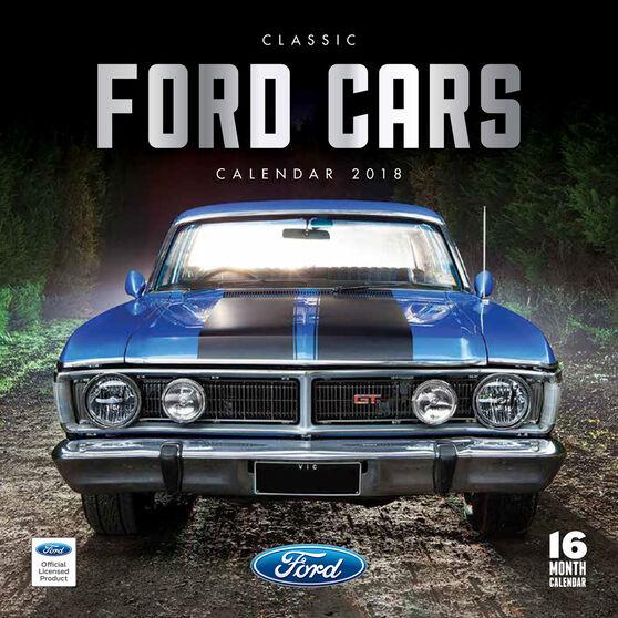 Classic Ford Mini 2018 Calendar