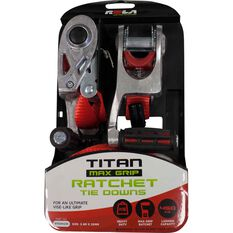 Rola Ratchet Tie Down 3.6m, 450kg 2 Pack, , scaau_hi-res