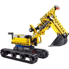 Model Kit - Build Your Own Excavator, , scaau_hi-res