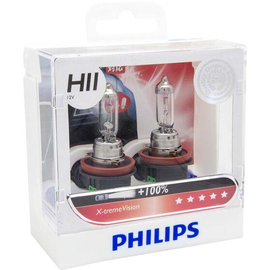 Philips Headlight Globe, X-tremeVision - H11, 55W
