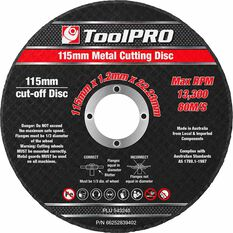 ToolPRO Metal Cut Off Disc 10 Pack, , scaau_hi-res
