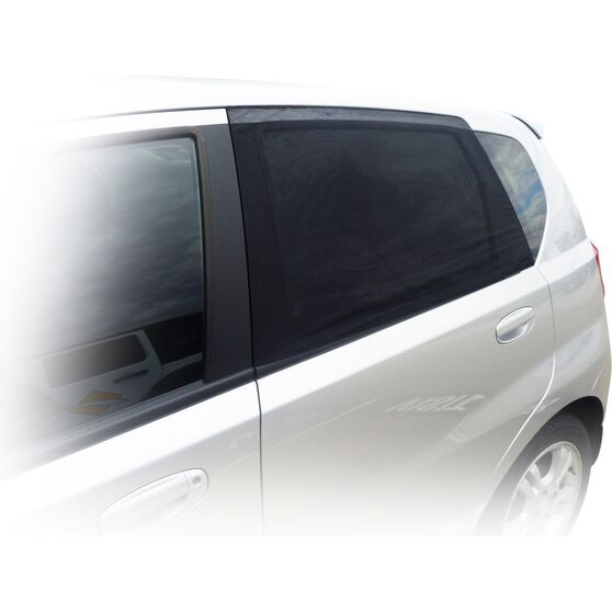 SCA Window Shade - Side, Small Rectangular, Black, Pair, , scaau_hi-res