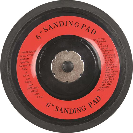 Blackridge Air Sanding Pad - 6 inch, 150mm, , scaau_hi-res