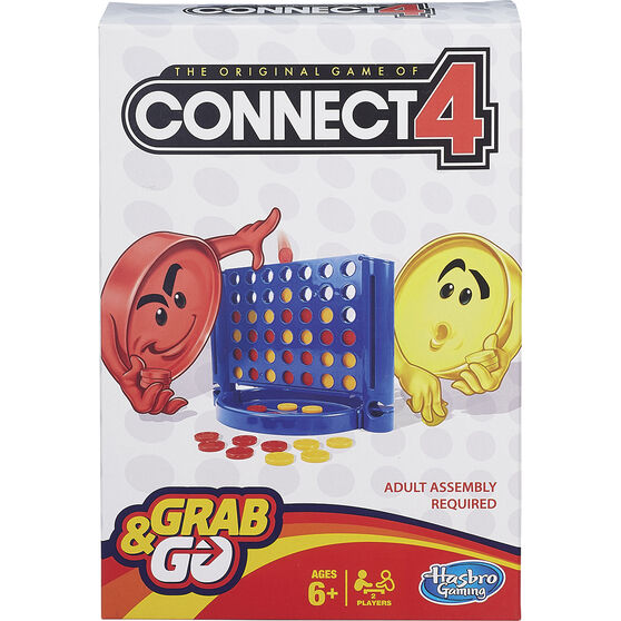 Hasbro Grab&Go Travel Game Connect 4, , scaau_hi-res