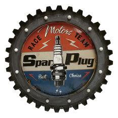 "Gear LED Sign 22.5"" Spark Plug, , scaau_hi-res"