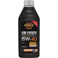 Penrite Semi Synthetic Engine Oil - 15W-40 1Litre, , scaau_hi-res