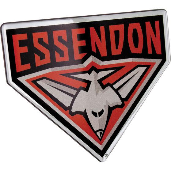 Essendon AFL Supporter Logo - Lensed Chrome Finish, , scaau_hi-res
