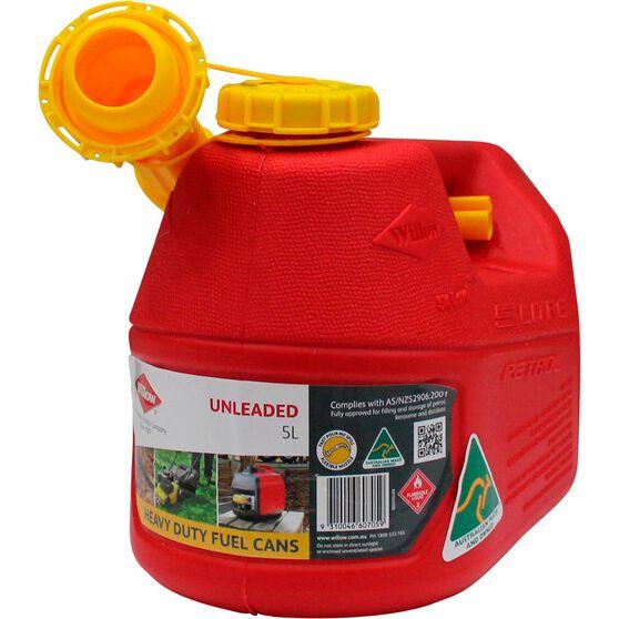 Jerry Can - Petrol, 5 Litre, , scaau_hi-res