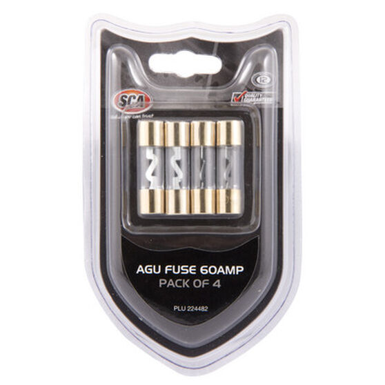 SCA Audio Fuse - 60Amp, 4 Pack, , scaau_hi-res