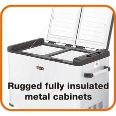 Ridge Ryder by Evakool Dual Compartment Fridge Freezer - 60 Litre, , scaau_hi-res