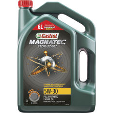 Castrol MAGNATEC Stop-Start Full Synthetic Engine Oil 5W-30 6 Litre, , scaau_hi-res
