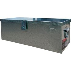 Security Tool Box - Galvanised, 65 Litre, , scaau_hi-res