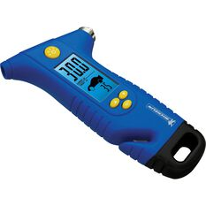 Michelin Digital Tyre Gauge w / Escape Hammer, , scaau_hi-res