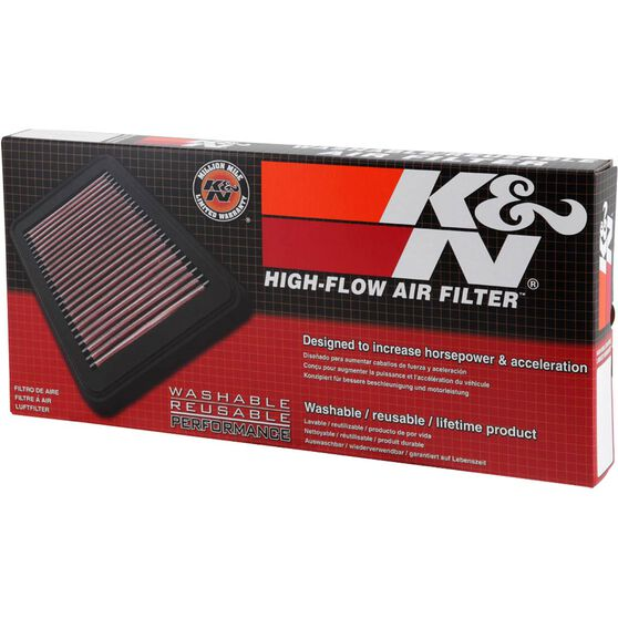 K&N Air Filter 33-2857 (Interchangeable with A1663), , scaau_hi-res