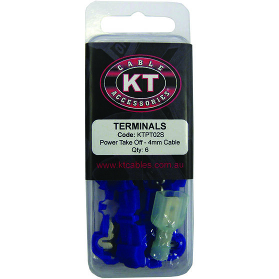 KT Cable Power Take Off - Blue, 6 Pack, , scaau_hi-res