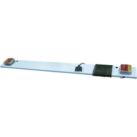 Trailer Light Board 7 Pin Flat LED, , scaau_hi-res