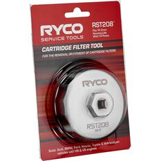 Ryco Oil Filter Cup Wrench RST208, , scaau_hi-res