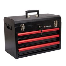 Tool Kit - 3 Drawer Chest, 174 Piece, , scaau_hi-res