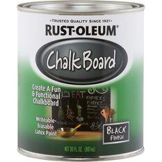 Rust-Oleum Paint - Chalkboard, Black, 887mL, , scaau_hi-res