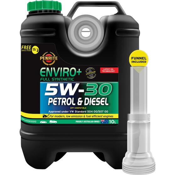 Penrite Enviro+ Engine Oil - 5W-30 10 Litre, , scaau_hi-res