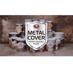 SCA Metal Cover Enamel Rust Paint Matt Black 500mL, , scaau_hi-res