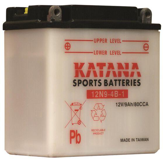 Katana Powersports Battery 12N9-4B-1, , scaau_hi-res